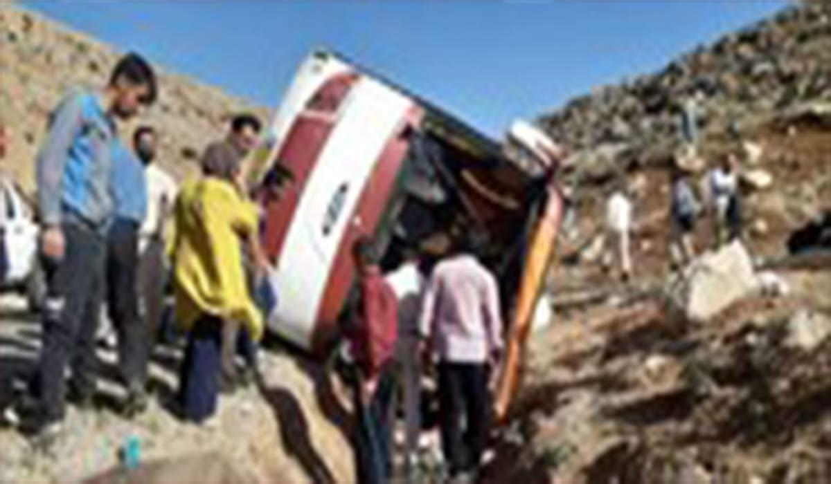 حقبقت حادثه برای اتوبوس سازمان محیطزیست!