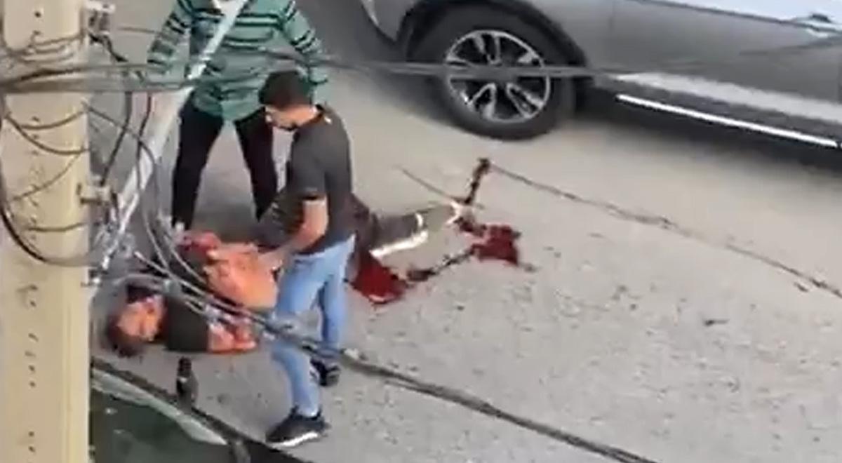 تیراندازی وسط شهر   تهران . سعادت آباد