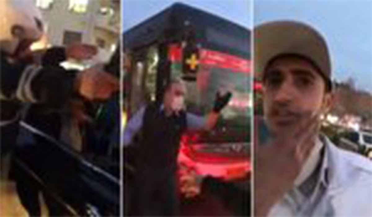 ویدیوی جدید از محل درگیری سرباز و نماینده مجلس
