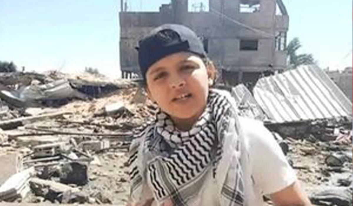رپ حماسی نوجوان فلسطینی!