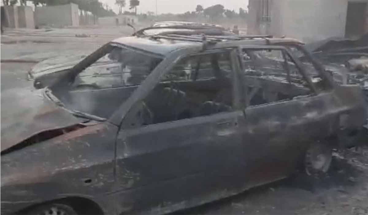 ویدئوی خسارت آتش سوزی عظیم تهران!