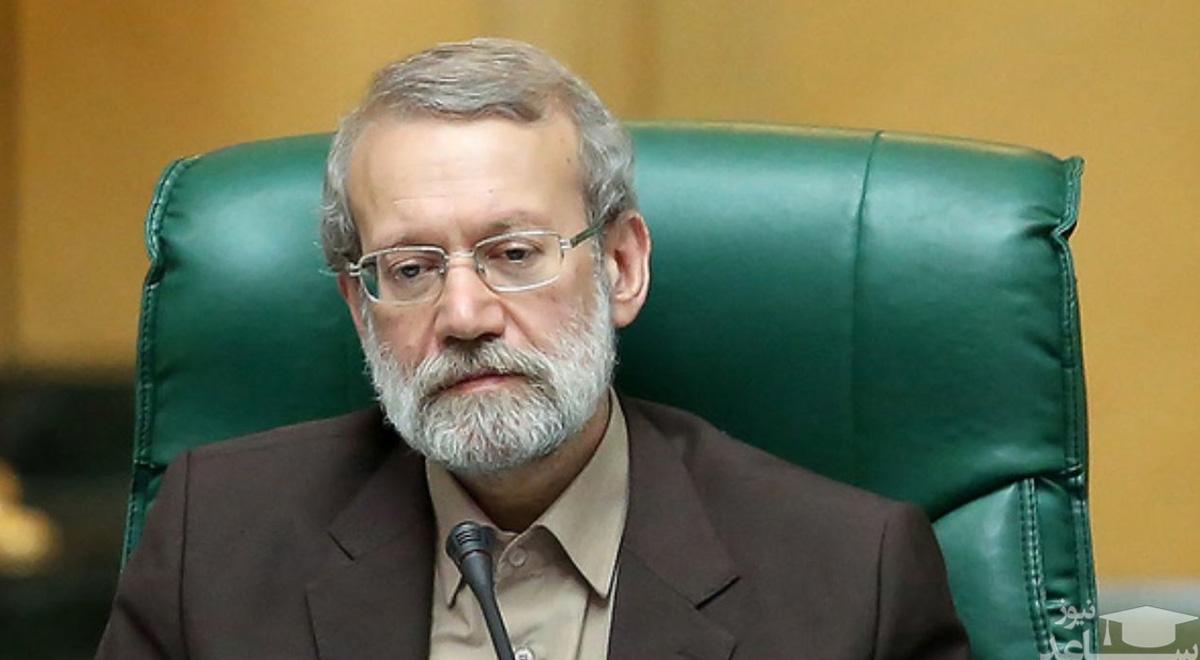 خداحافظی لاریجانی در آخرین جلسه علنی مجلس دهم