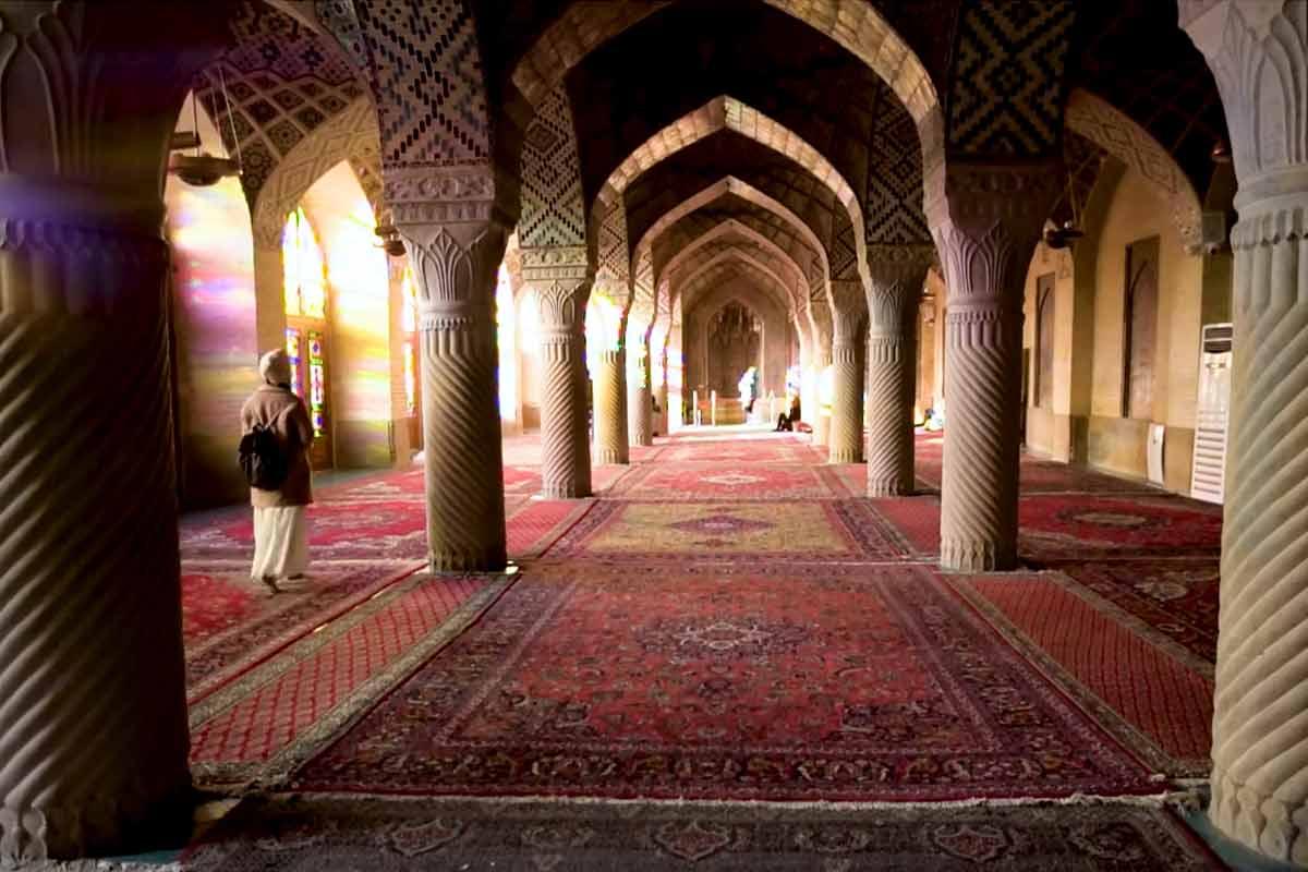مستند Great Big Story از مسجد نصیر الملک شیراز