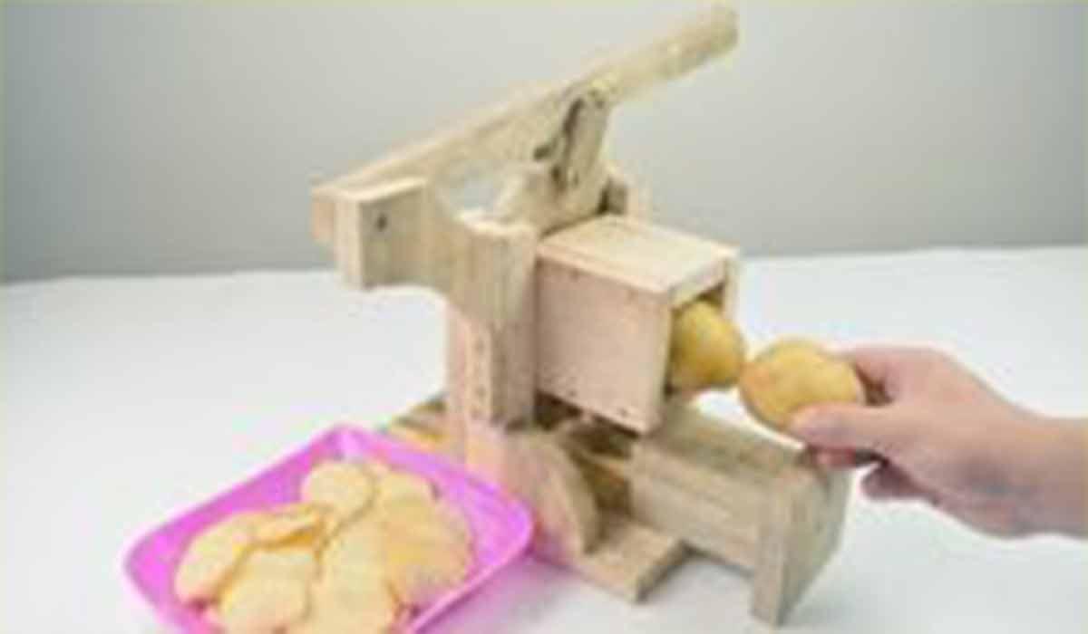 ترفند|دستگاه برش سیب زمینی خانگی