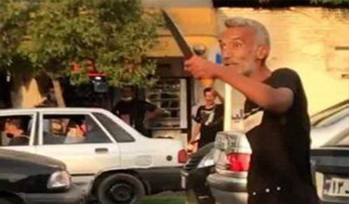 ویدئوی قاتل تبر به دست در گرگان
