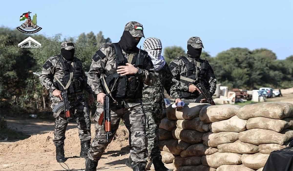 مانور نظامی گروههای مقاومت در نوار غزه