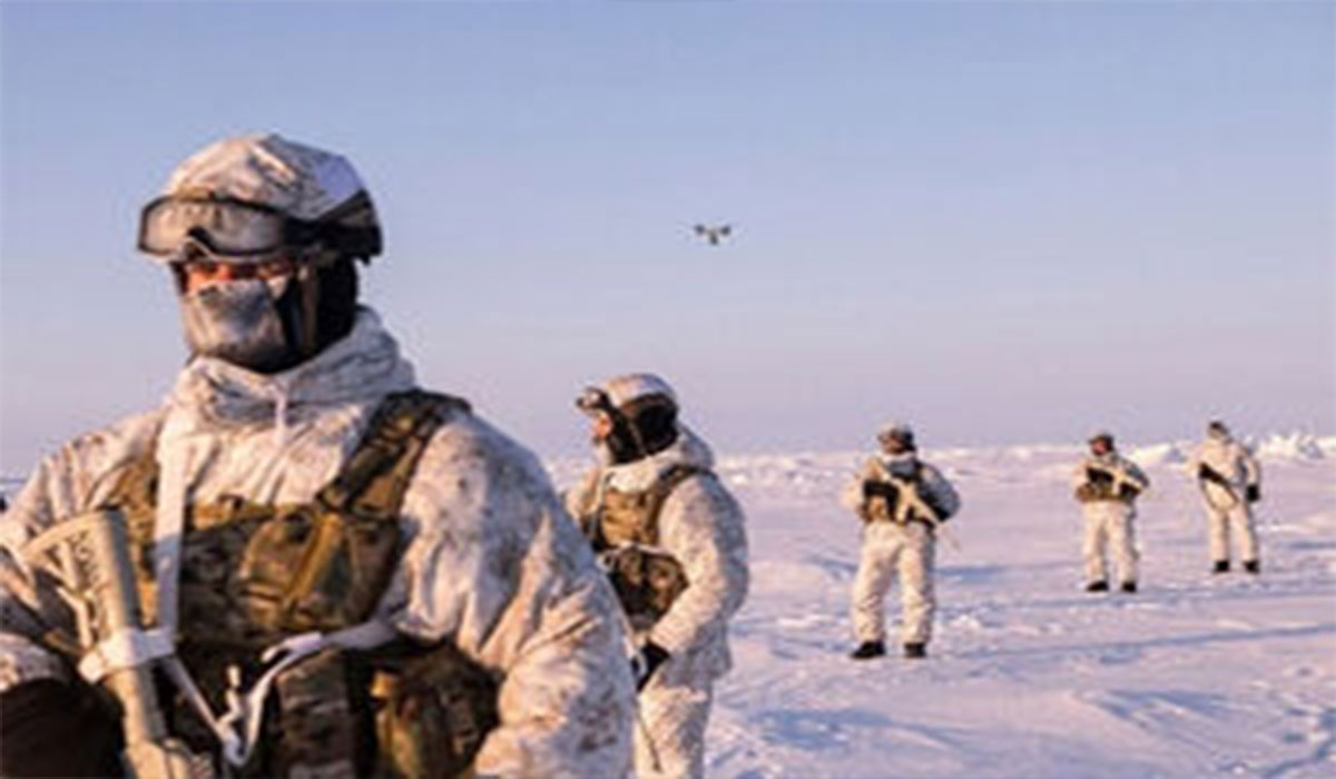مانور نظامی روسیه در قطب شمال