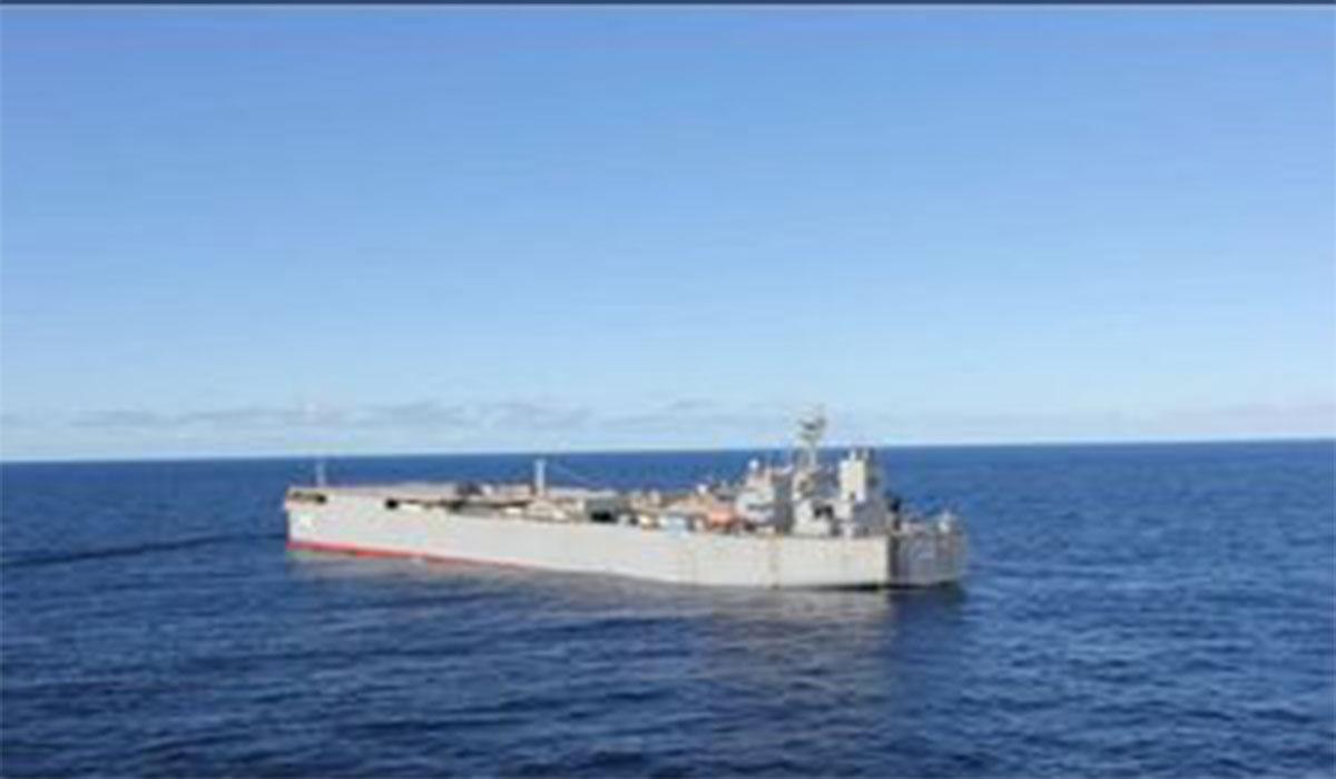 پیام ناوگروه ارتش در اقیانوس اطلس!