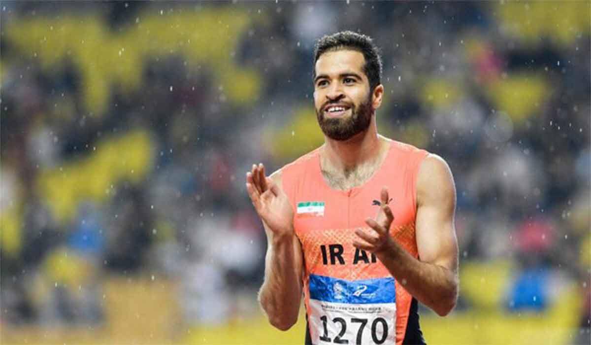 قهرمانی حسن تفتیان مسابقات دوی 60 متر فرانسه