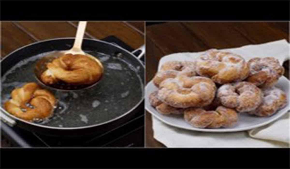 شیرینی | طرز تهیه دونات مارپیچ