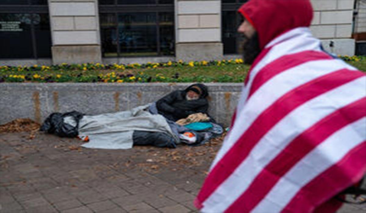 وضعیت بیخانمانهای آمریکا...!