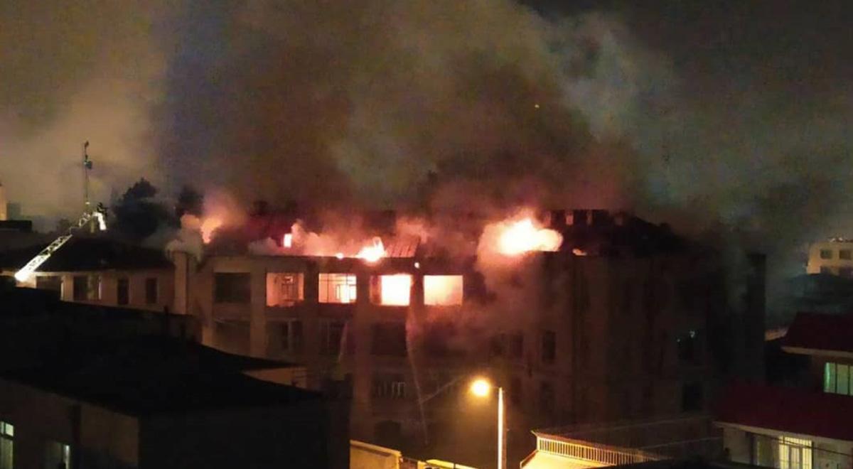 آتش بر جان یک از قدیمیترین بیمارستان های کشور.