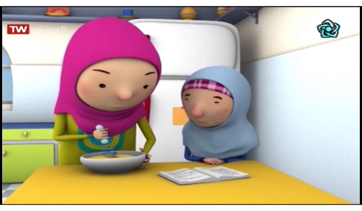 کارتون مهارتهای زندگی | مسابقه کیک پزی