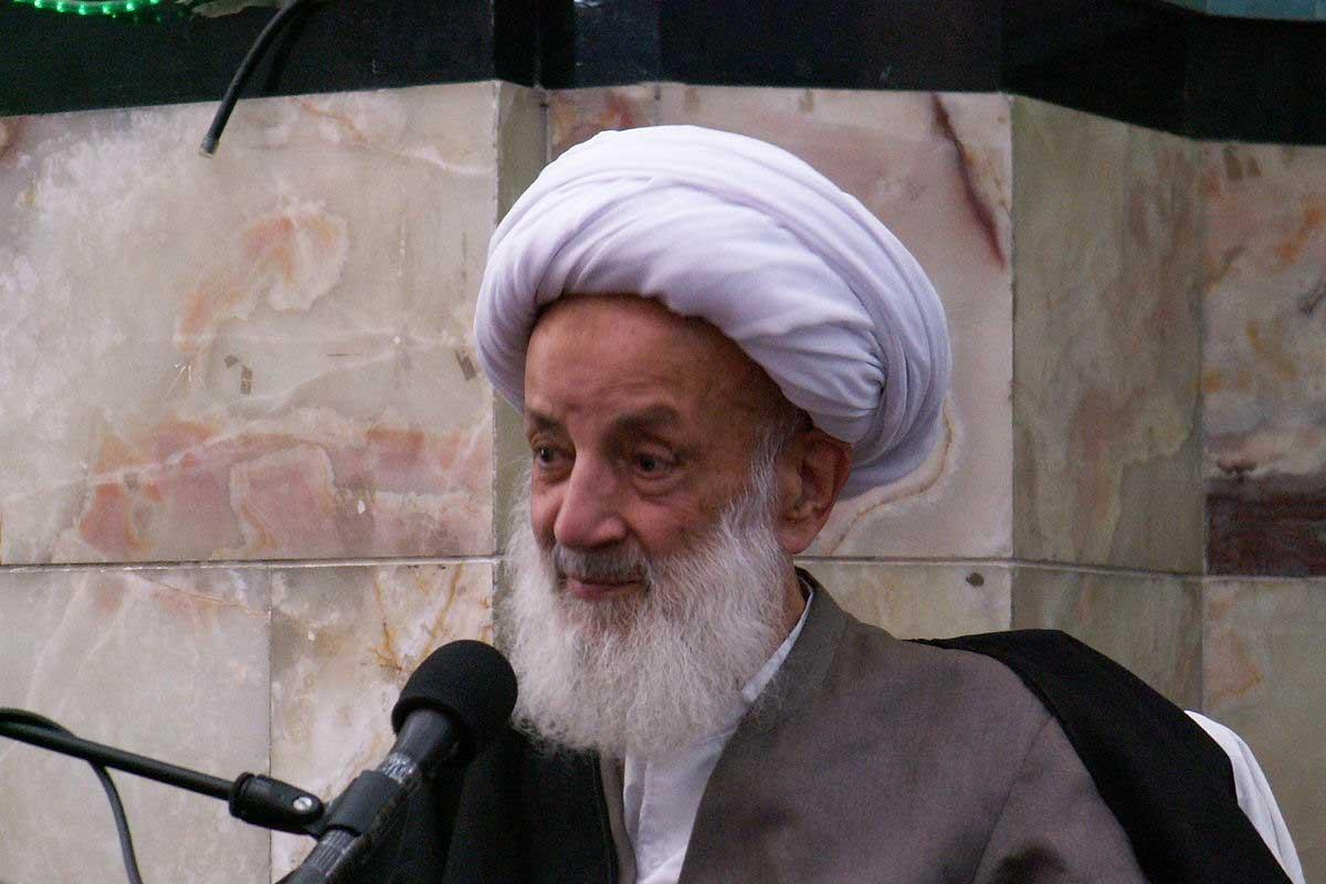 بوی بد گناه/ آیت الله مجتهدی تهرانی