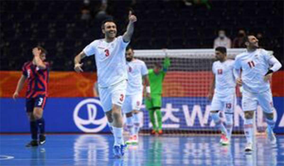 3 گل تماشایی ایران به آمریکا در جام جهانی فوتسال