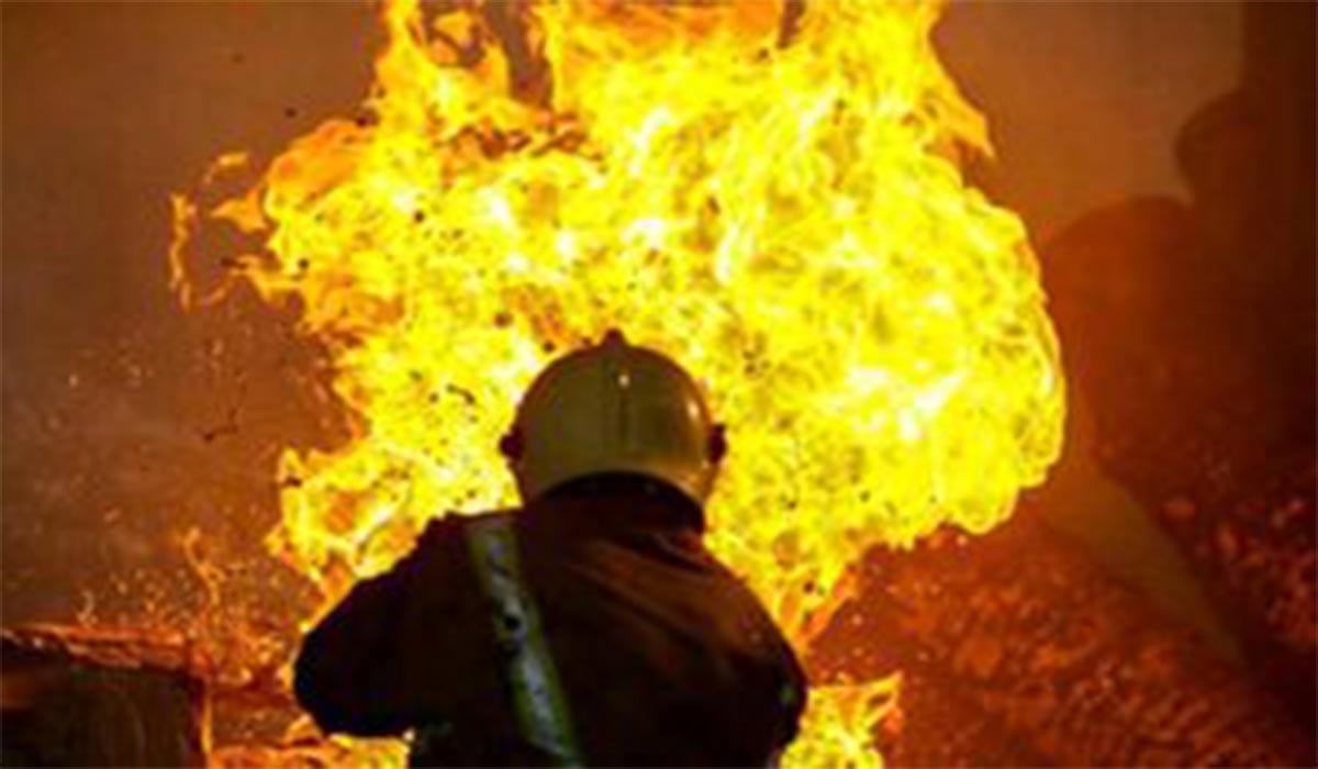 بیمارستان کرونای هند در آتش سوخت!