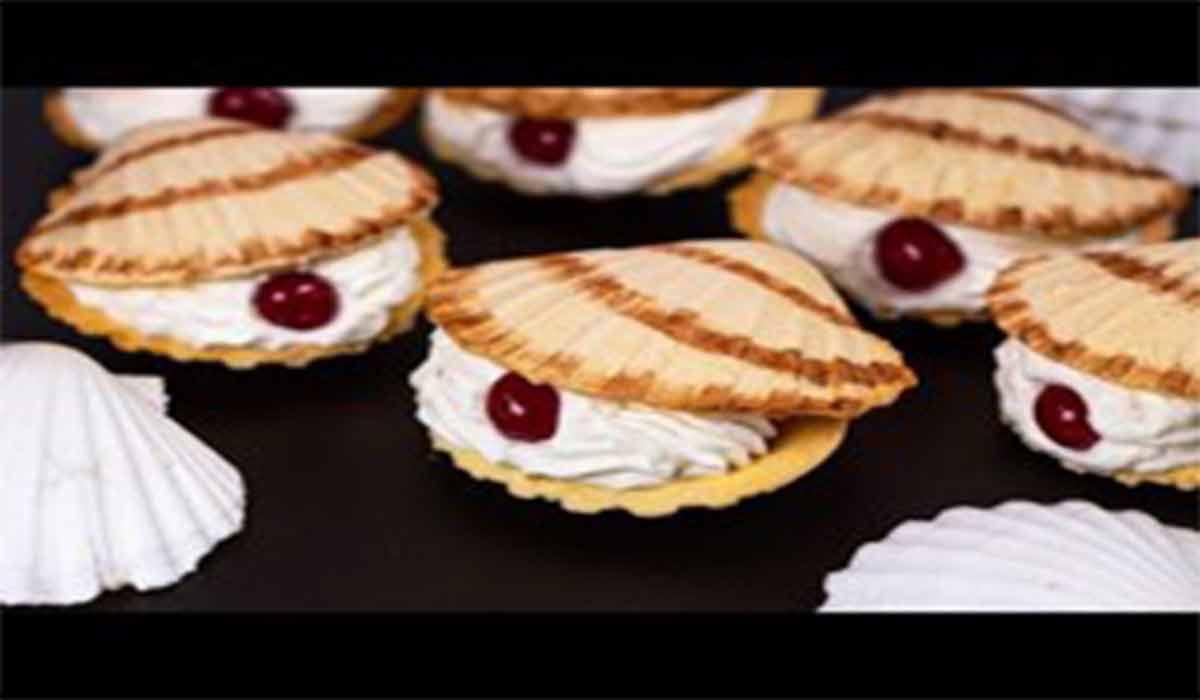 شیرینی | طرز تهیه شیرینی صدفی