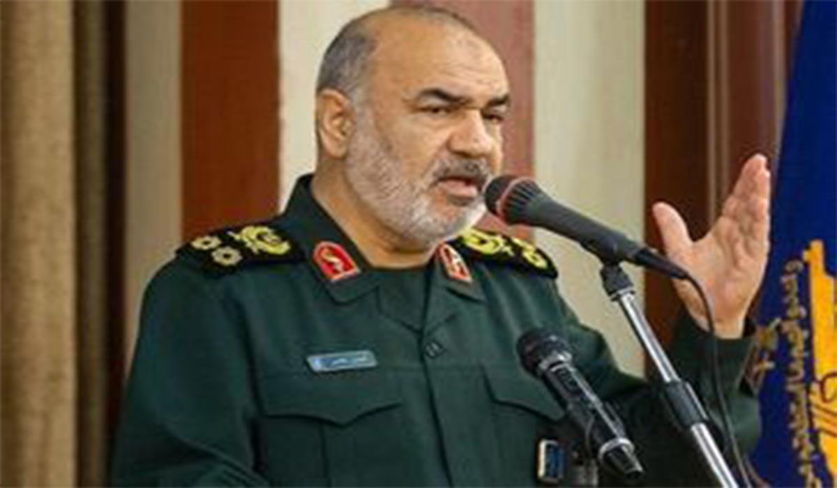 صحبت های سردار سلامی به کاندیداتوری نظامیان