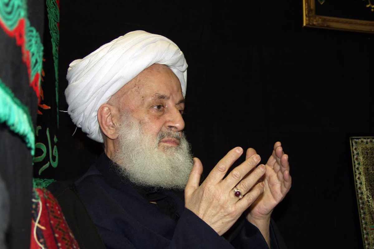 این صدا آشناست.../ آیت الله مجتهدی تهرانی