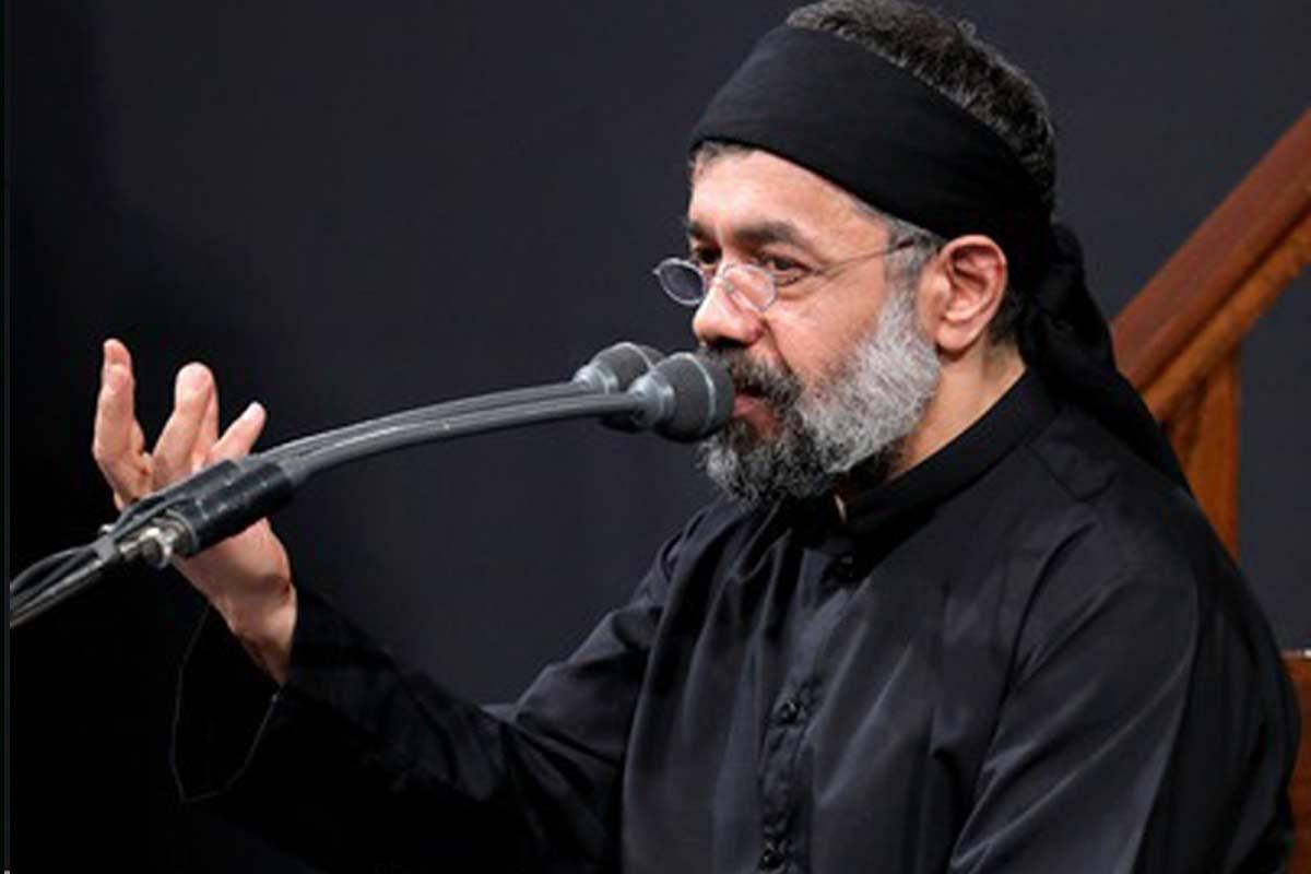 مرثیهسرائی شام غریبان حاج محمود کریمی
