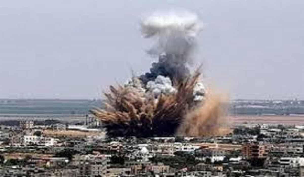 لحظه وقوع انفجار در بغداد