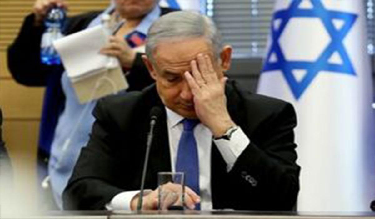 نتانیاهو هم سقوط کرد!