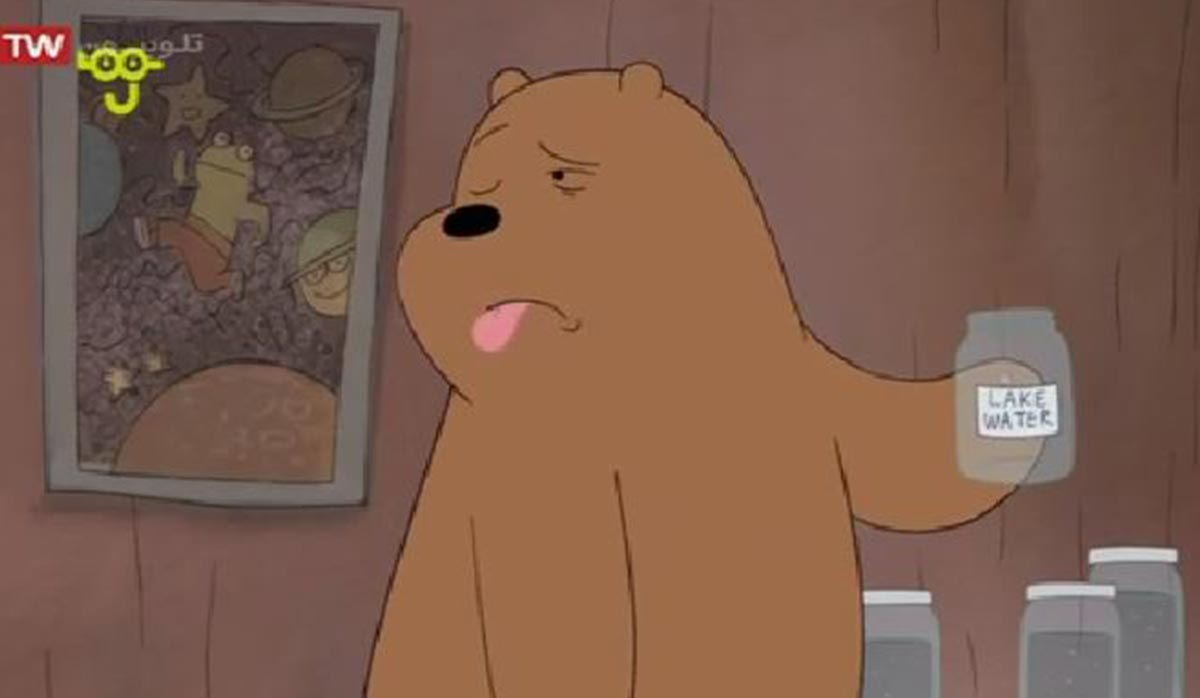 کارتون خرسهای کله فندقی   آنفولانزای خرسی