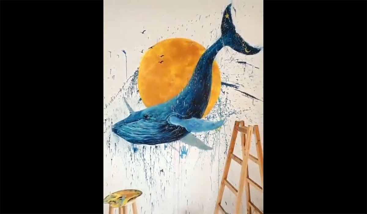نقاشی پرتره در 30 ثانیه