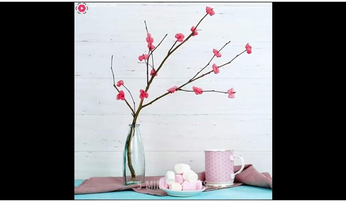 ترفند   ساخت گل انگشتی