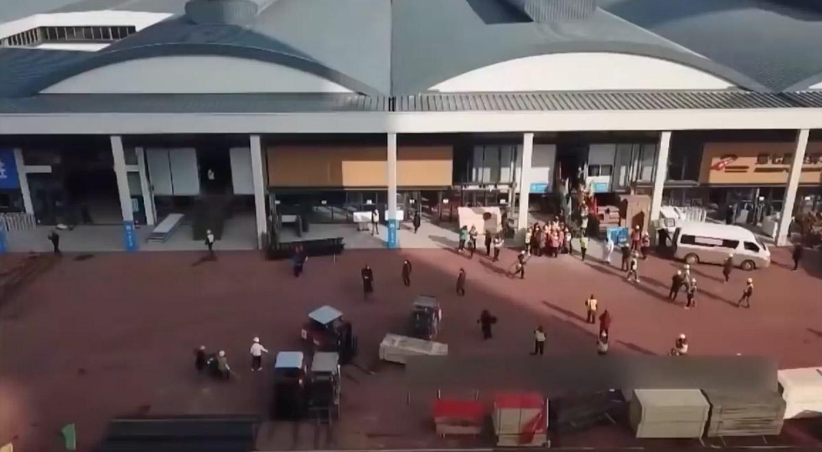 تصاویری از ساخت 10 روزه بیمارستان در شهر چینی ووهان