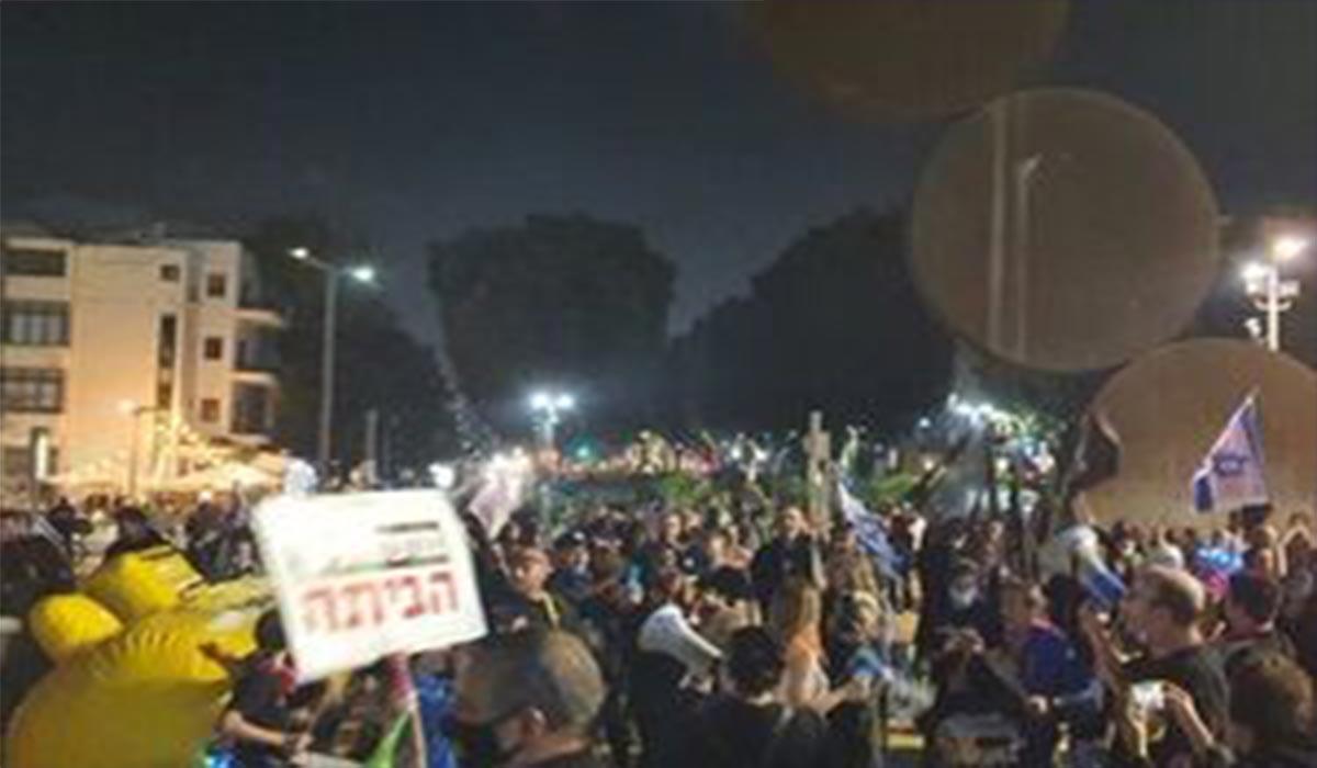 اعتراض صهیونیستها علیه نتانیاهو