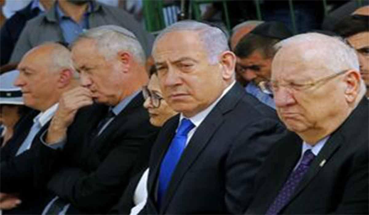 وقتی شلوار نتانیاهو از پاش می افتد!!!