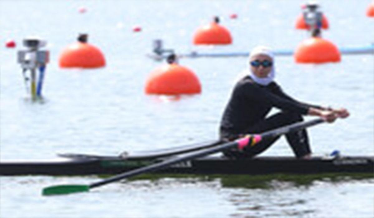 نازنین ملایی در قایقرانی المپیک به نیمه نهایی رفت