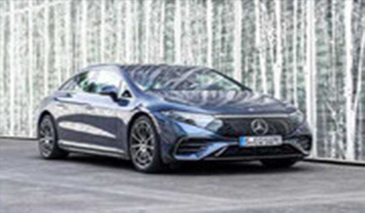 EQS مرسدس بنز برای نسل آینده خودروها