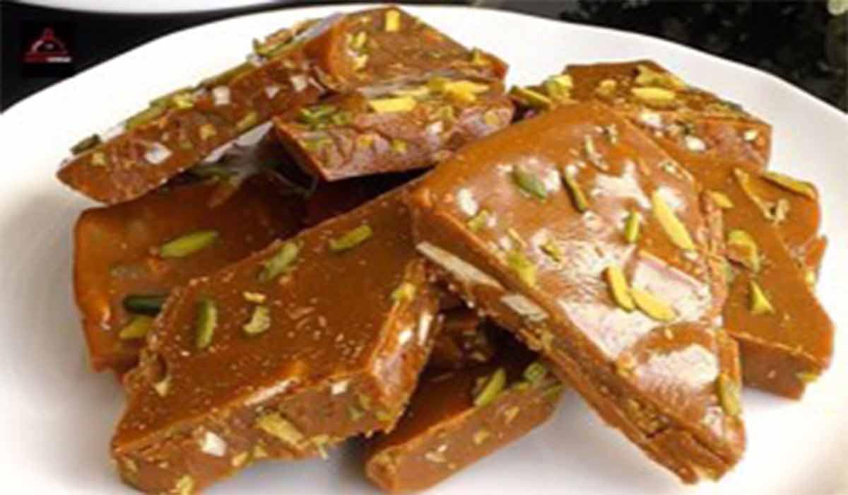 شیرینی   طرز تهیه سوهان ایرانی