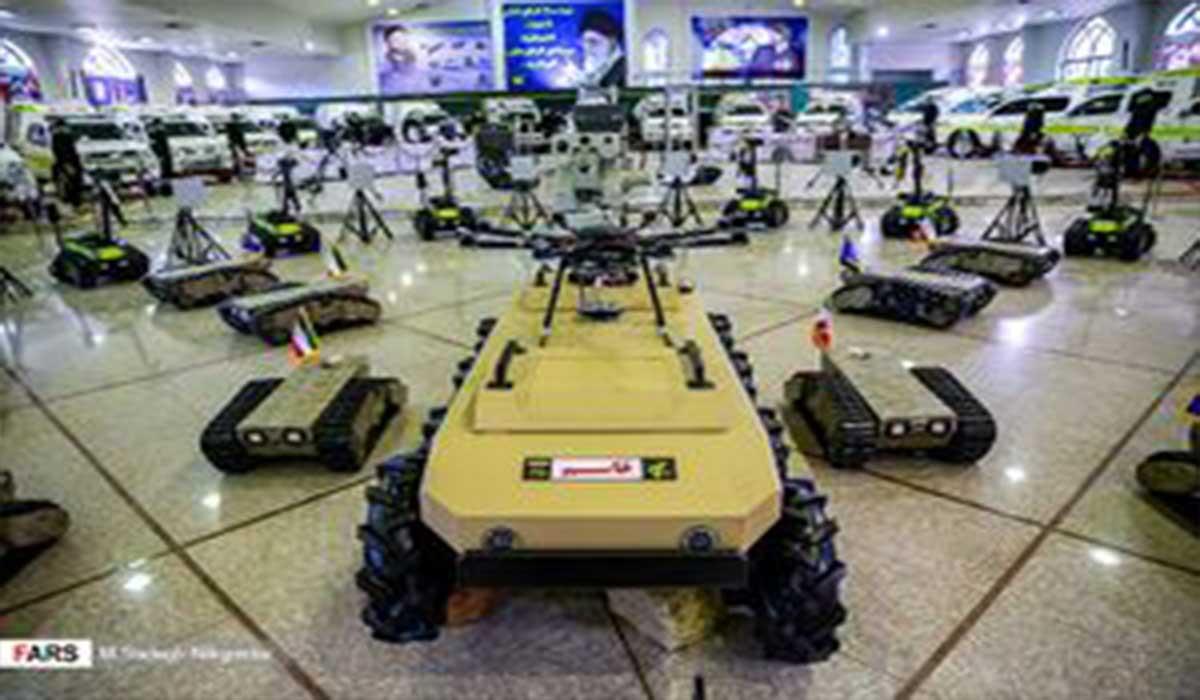 لشکر رباتیک ایرانی سپاه