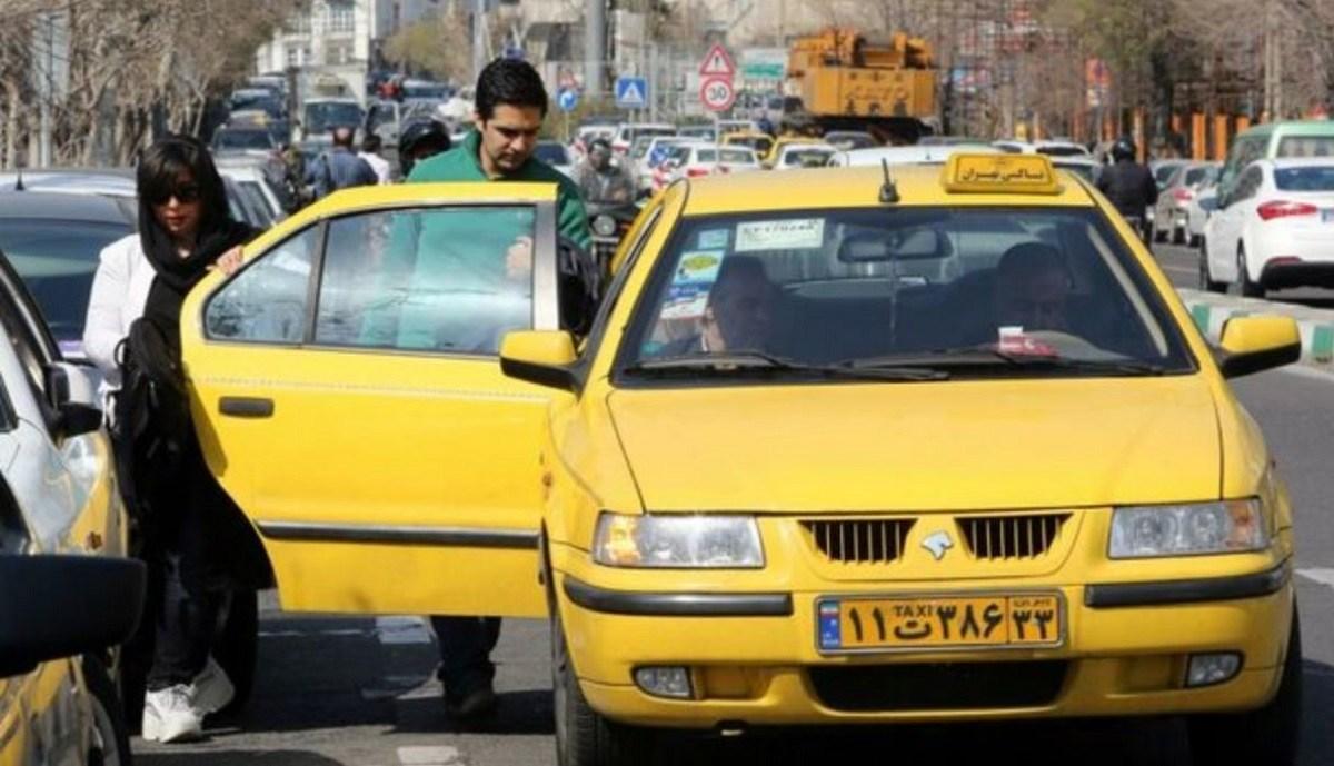 واکنش جالب مردم به پیاده کردن مسافر از تاکسی به زور!