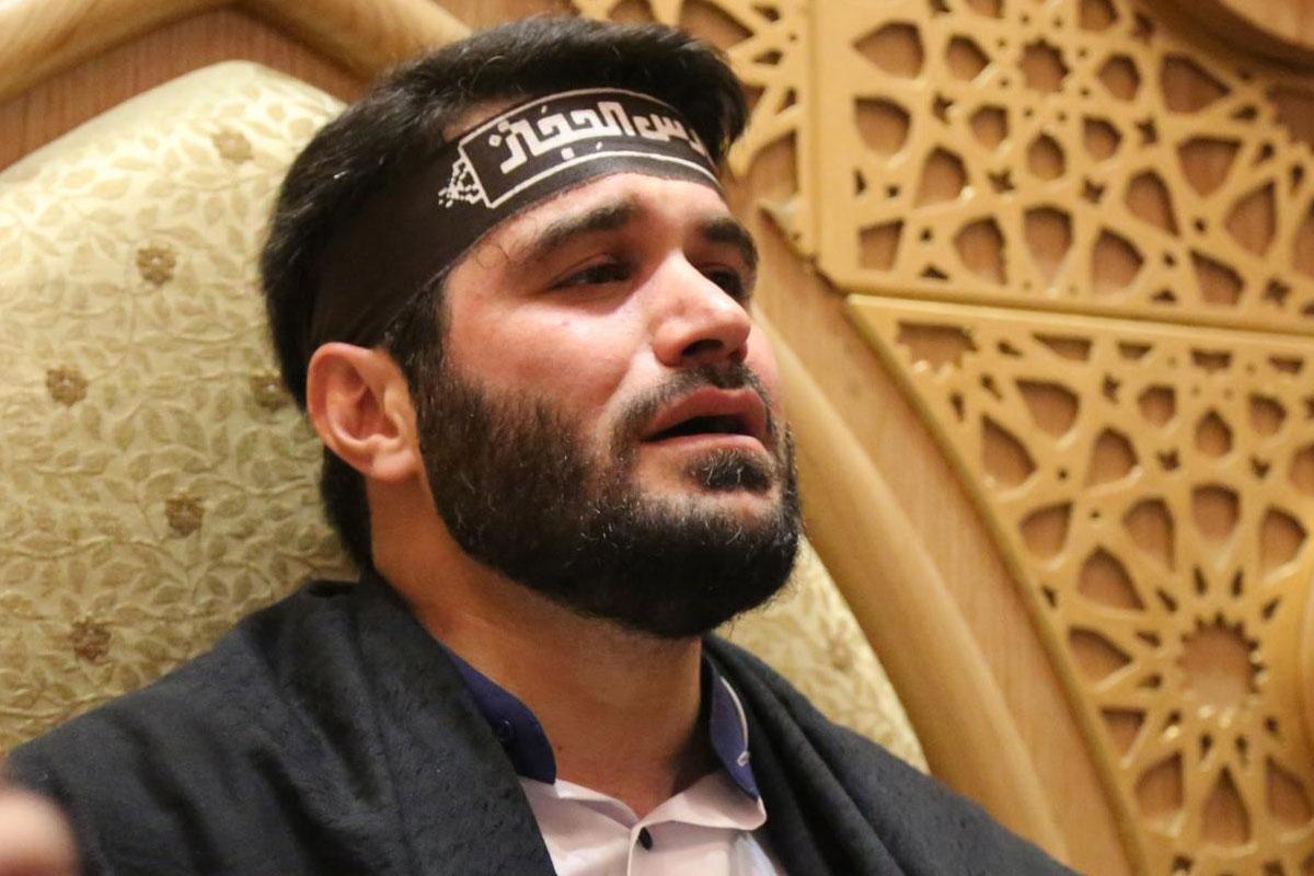 مداحی محرم 98/ مطیعی: پای موجای پرچم حسین (رجز)