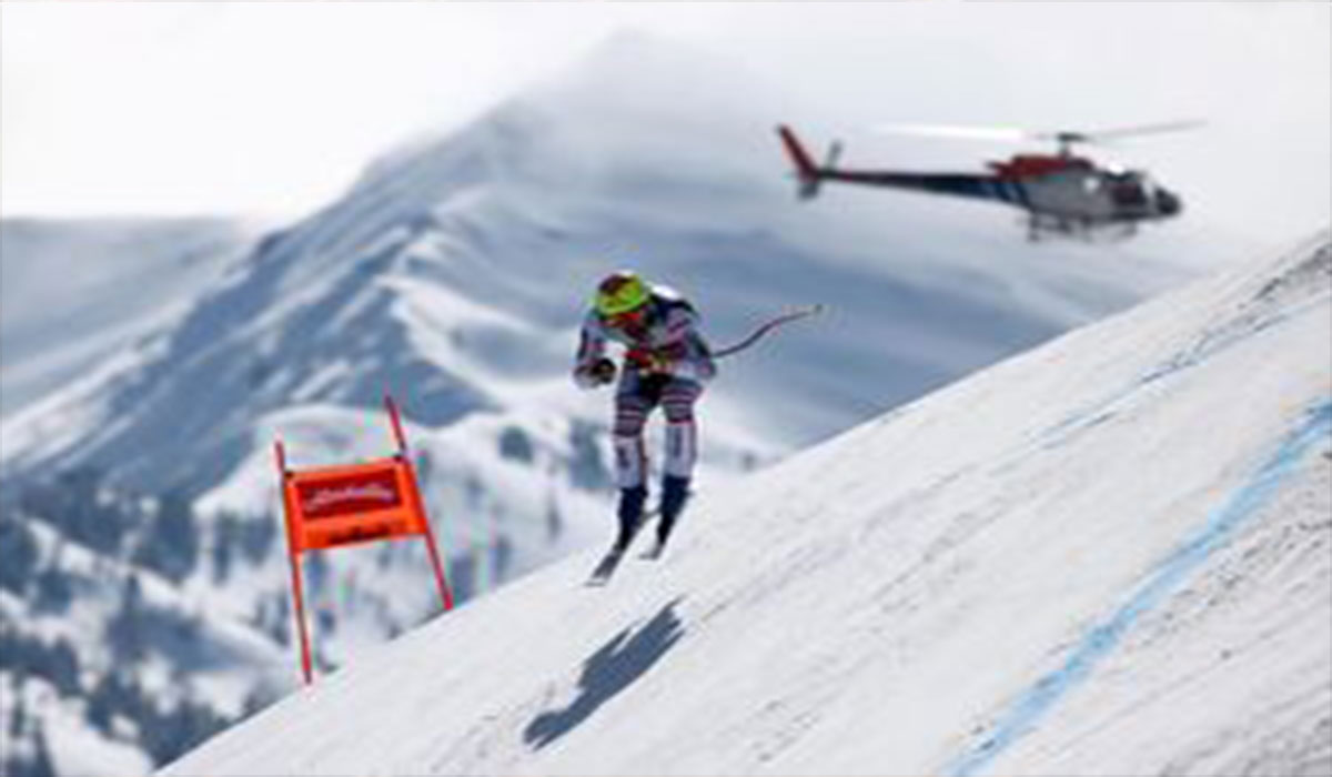 اسکی در خطرناک ترین شرایط