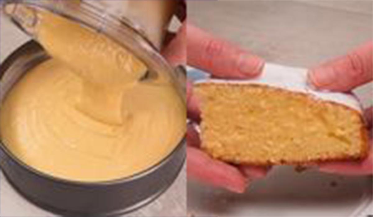 کیک|طرز تهیه کیک مخلوط