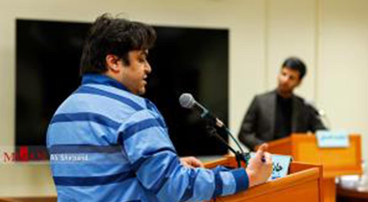 اعترافات روح الله زم موسسین آمدنیوز در دادگاه