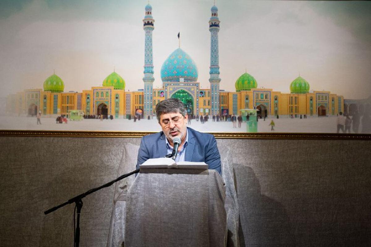 قرائت دعای عهد/ حاج محمدرضا طاهری
