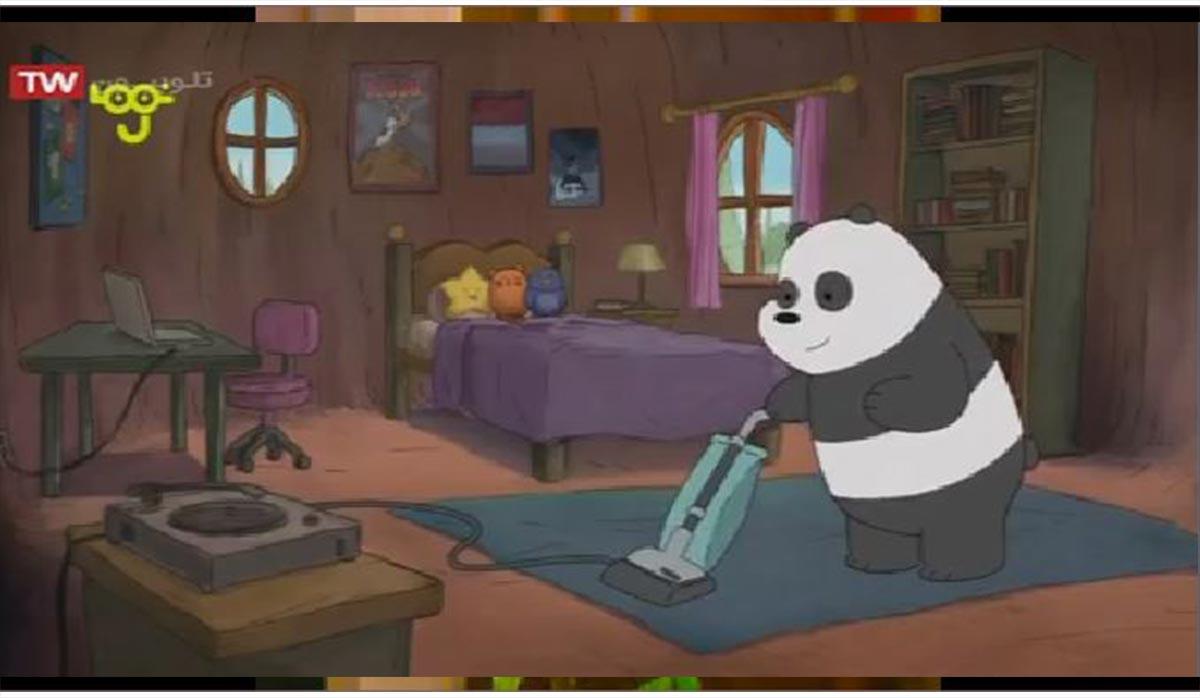 کارتون خرسهای کله فندقی   برادر لوسی