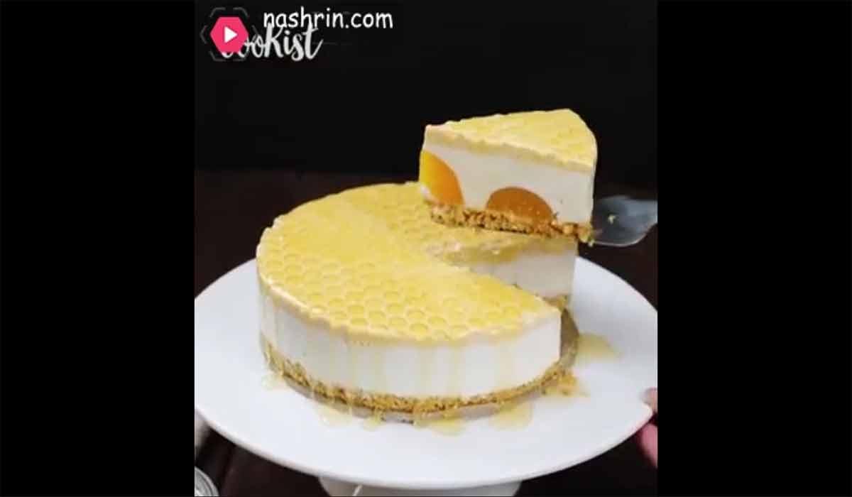کیک | طرز تهیه چیز کیک عسلی
