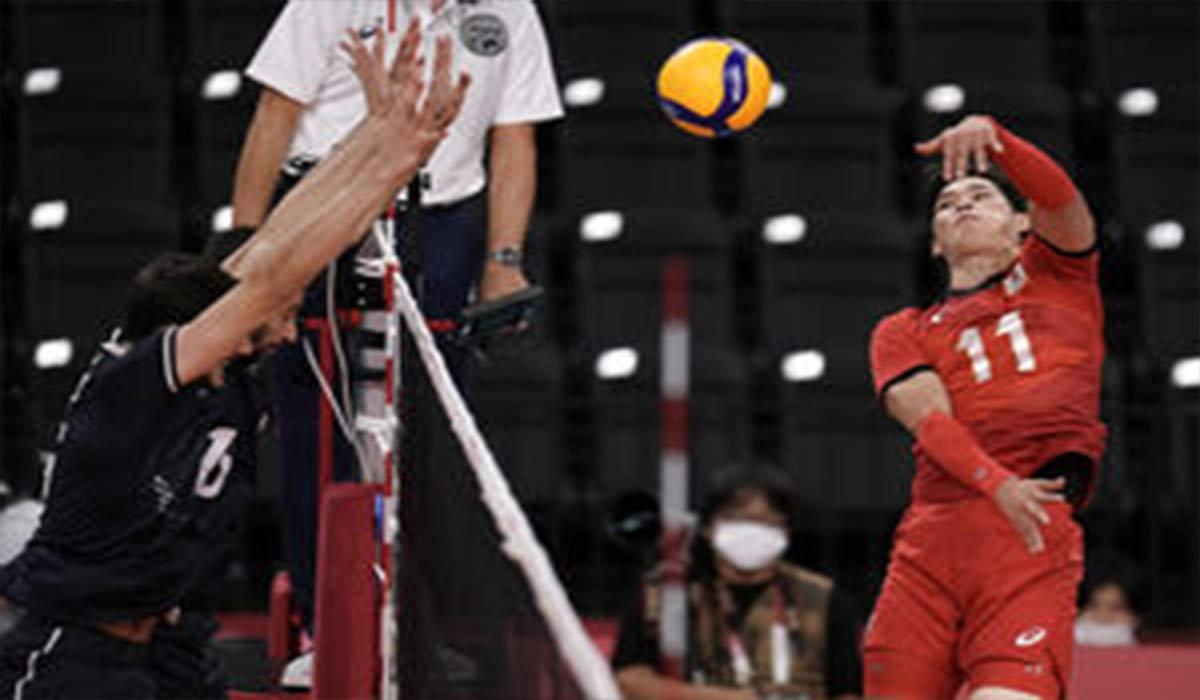خلاصه بازی والیبال ایران 2-3 ژاپن