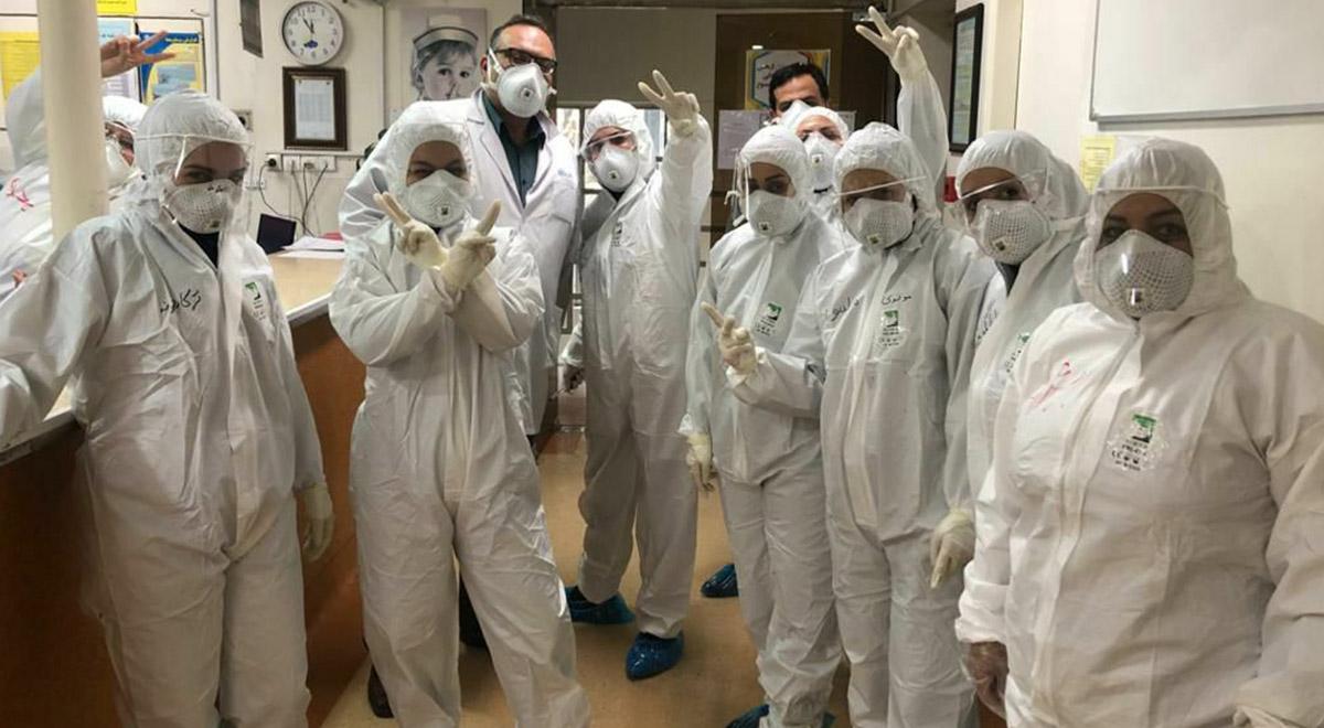 دقایقی با مدافعان سلامت در بیمارستان مسیح دانشوری