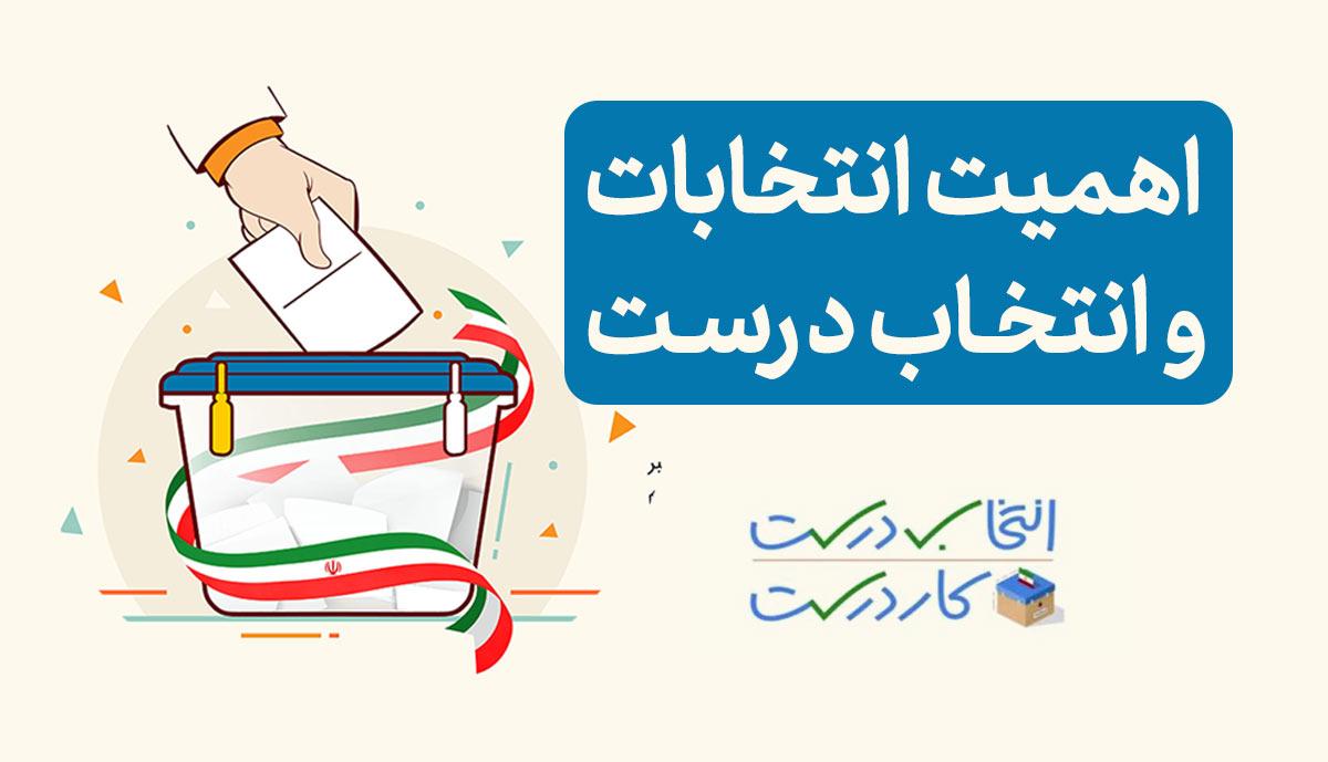 اهمیت انتخابات و انتخاب درست   موشن گرافیک