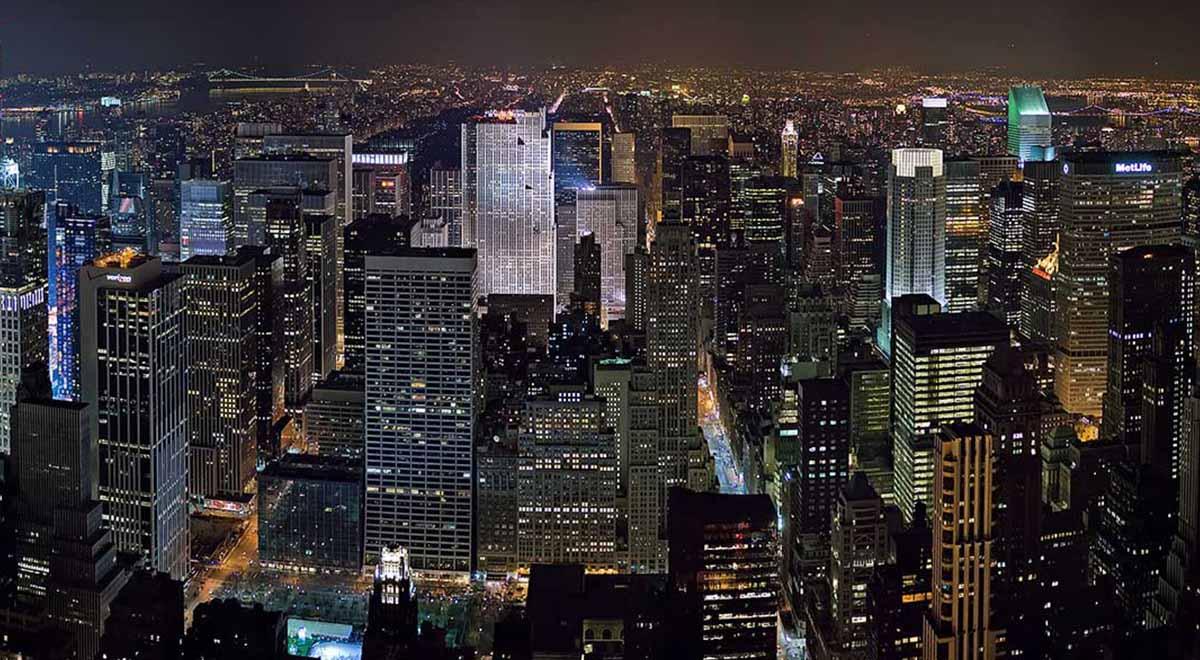 تصاویر ماهواره ای از تبدیل شدن نیویورک به شهر ارواح