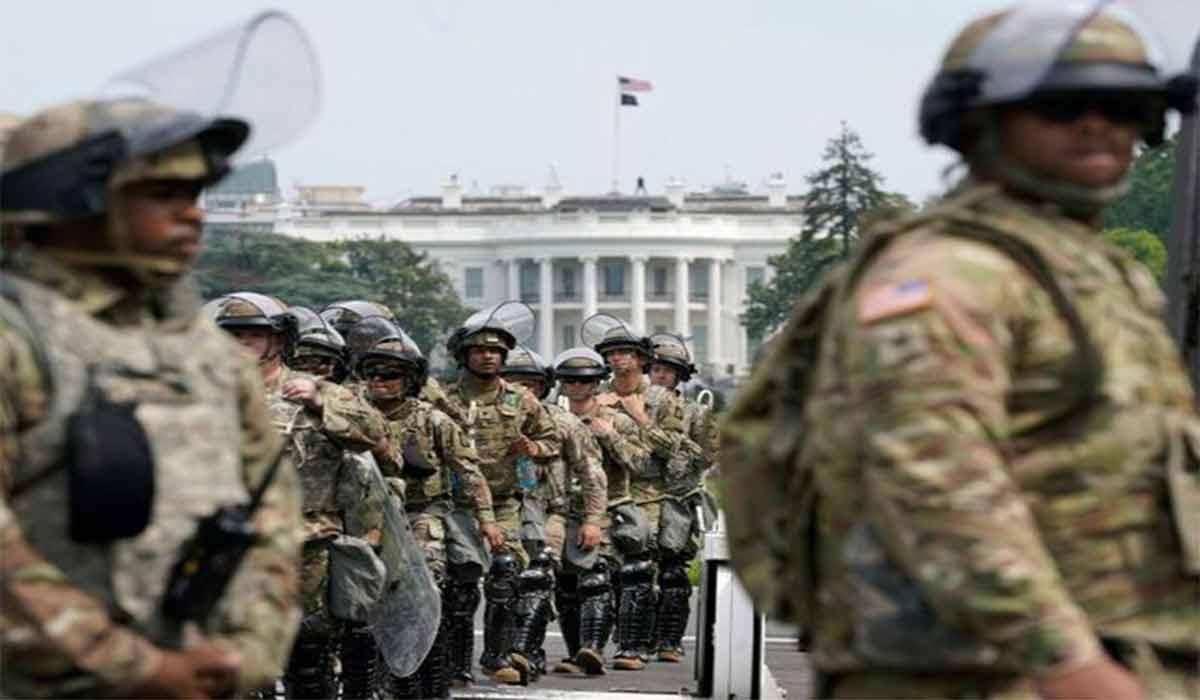 ارتش آمریکا در خیابانهای واشنگتن دیسی!