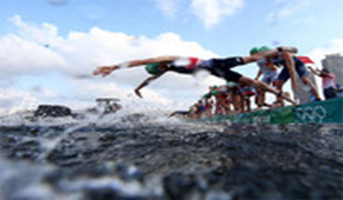 اشتباه جالب در استارت مسابقات سهگانه المپیک